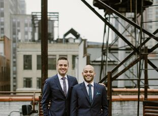 In college, where they met, John Kelly (30 and a product manager) and Pedro Gomez (31 and an advertising executive) planned many student events, so th