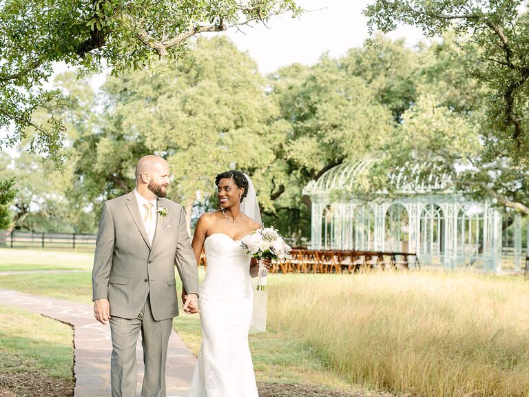 Texas Hill Country wedding venue in Dripping Springs, Texas.