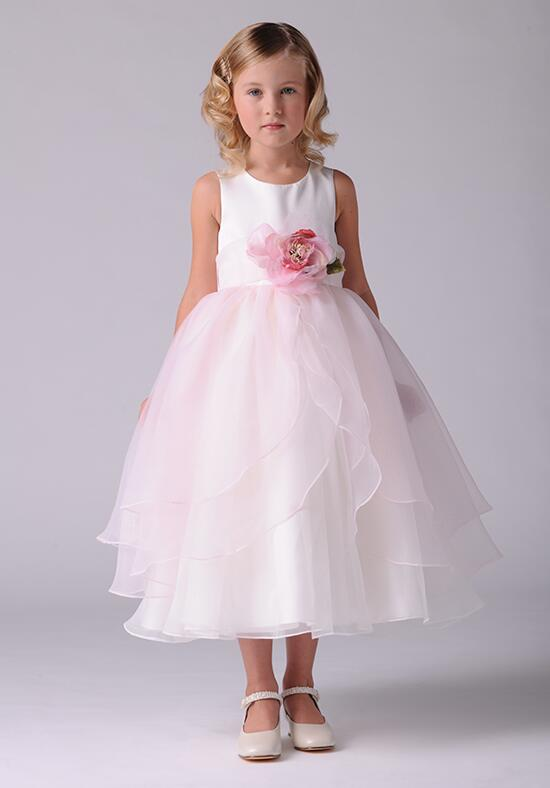 Us Angels Beautiful Color The Tulip Dress-104 Flower Girl Dress photo
