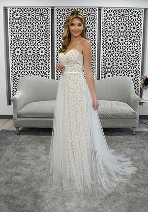 Stella York 7295 Sheath Wedding Dress