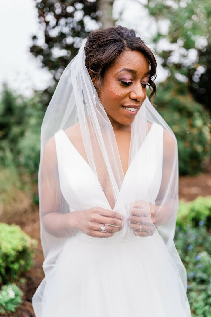 Bridal Portraits at the Royal Crest Room in St. Cloud, Florida