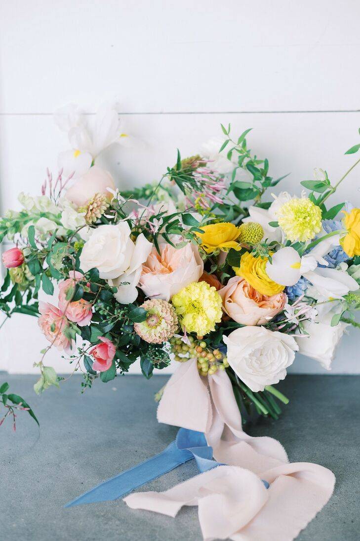 Summer Bouquet at The Farmhouse in Montgomery, Texas