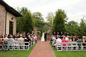 Brick Terrace Ceremony