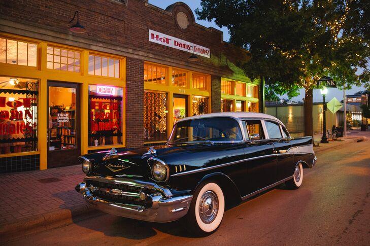 Vintage Car Transportation from Hot Damn, Tamales!