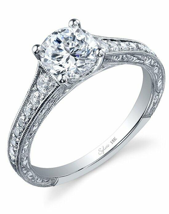 Sylvie Collection SY886 Engagement Ring photo