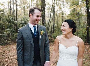 Not many couples can say their wedding venue runs in the family, but for newlyweds Mari Homma (30 and a merchandise planner) and Maxwell Pepper (31 an