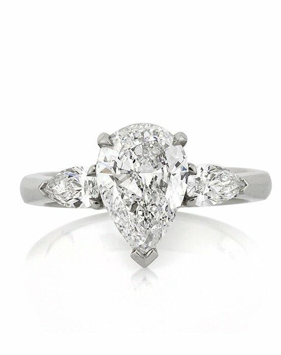 Mark Broumand 2.50ct Pear Shaped Diamond Engagement Ring Engagement Ring photo