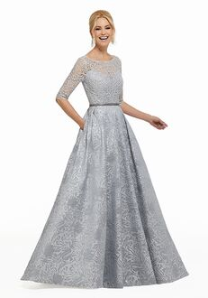 MGNY 72004 Black,Silver Mother Of The Bride Dress