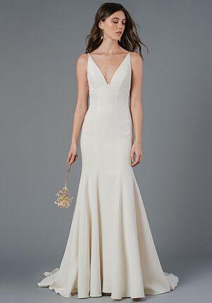 Jenny Yoo Collection Claret Sheath Wedding Dress