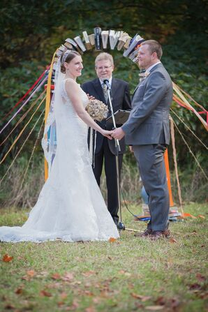 Outdoor Farm Ceremony at a Private Residence