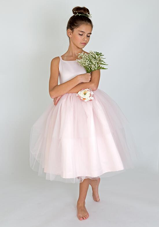Us Angels Beautiful Color The BallerinaDress-101_blush Flower Girl Dress photo
