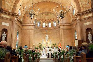 Basilica Shrine of St. Mary Ceremony