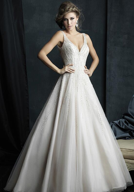 Allure couture c382 wedding dress the knot for Wedding dresses the knot