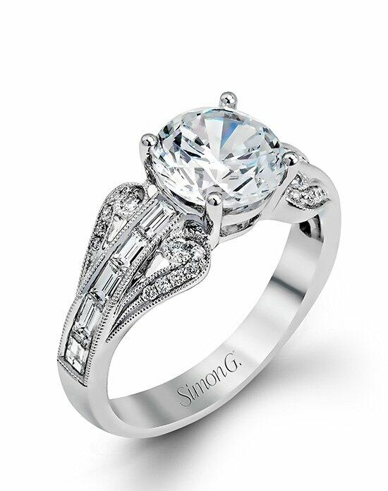 Simon G. Jewelry TR565 Engagement Ring photo