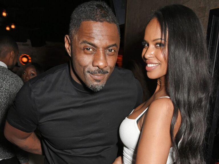 Idris Elba and Sabrina Dwhore