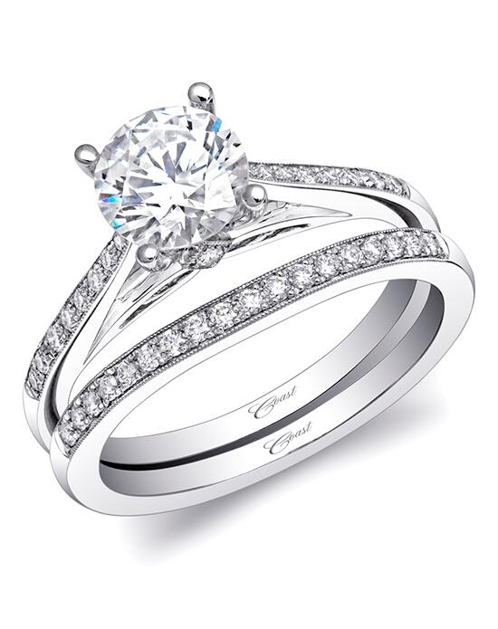 Coast Diamond LC5387 & WC5387 Engagement Ring photo