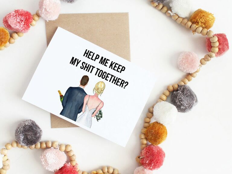 bridesman proposal card