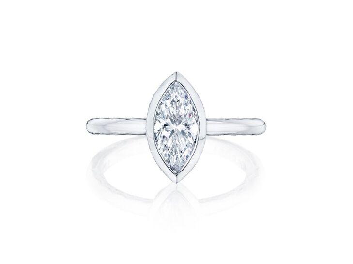 tacori marquise engagement ring