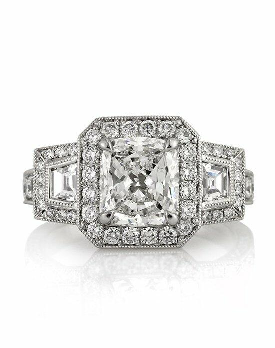 Mark Broumand 3.14ct Cushion Cut Diamond Engagement Ring Engagement Ring photo