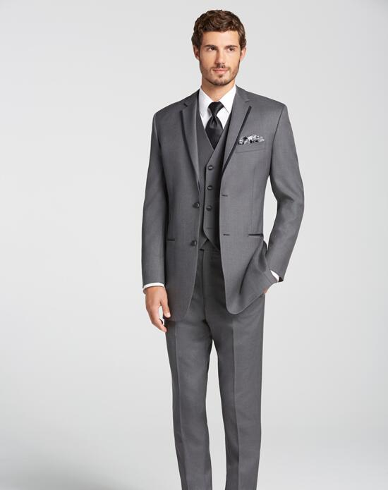 The Men's Wearhouse® BLACK by Vera Wang® Gray Tuxedo Wedding Tuxedos + Suit photo
