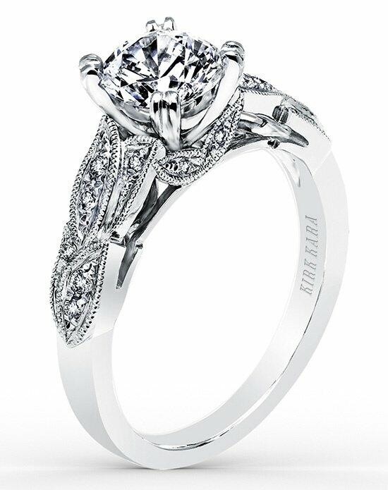 Kirk Kara Dahlia Collection K156R Engagement Ring photo