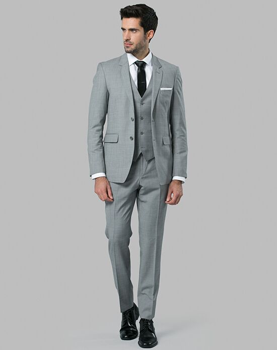 Menguin Gray Suit Gray Tuxedo