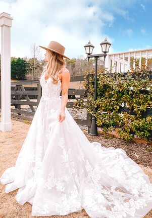 Essense of Australia D3278 A-Line Wedding Dress
