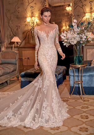 Demetrios DP429 Mermaid Wedding Dress