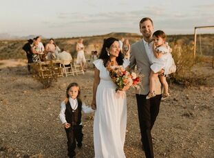 The first time Nicole Reber and Michael Martin set out to plan their wedding, a large affair in Iowa, the vibe didn't feel right—so much so, they call