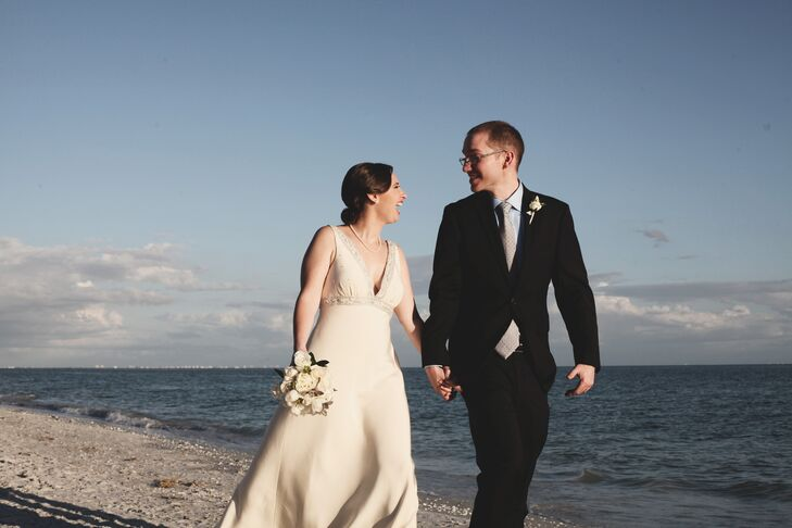 Wedding Portrait on Sanibel Island, Florida