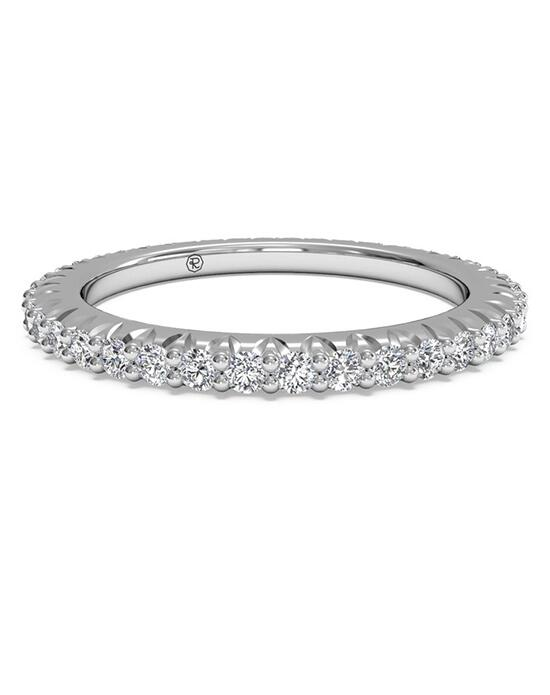 Ritani Women's Open Micropave Diamond Eternity Wedding Ring - in 14kt White Gold - (0.60 CTW) Wedding Ring photo