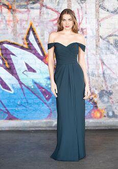 Bari Jay Bridesmaids 2077 Off the Shoulder Bridesmaid Dress