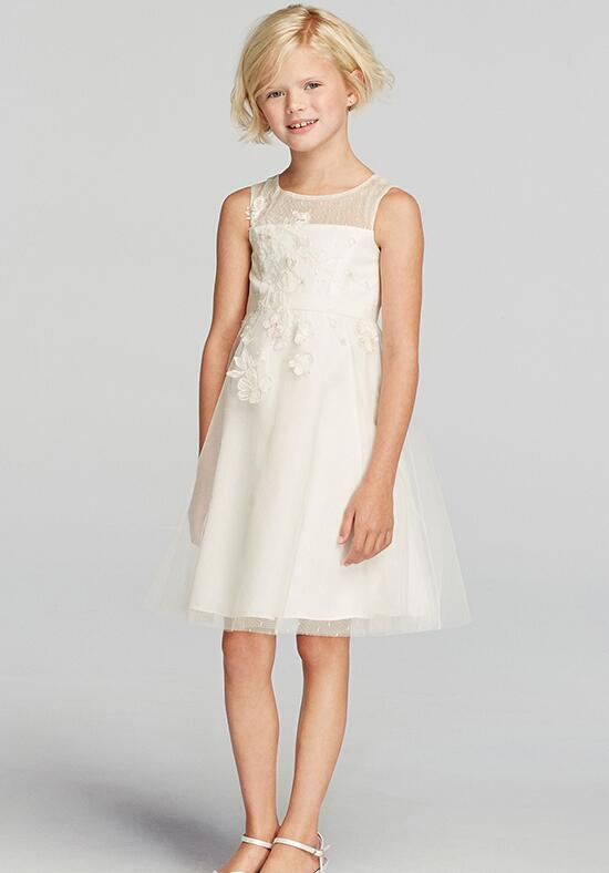 Flower Girl Dresses Davids Bridal White : David s bridal juniors wg flower girl dress the knot