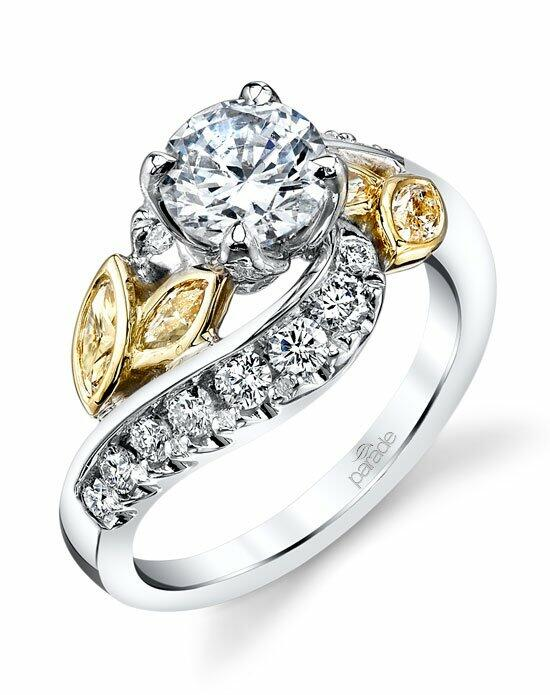 Parade Design Style R3518 from the Lyria Bridal Collection Engagement Ring photo