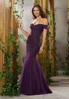 MGNY 71911 Champagne,Purple Mother Of The Bride Dress