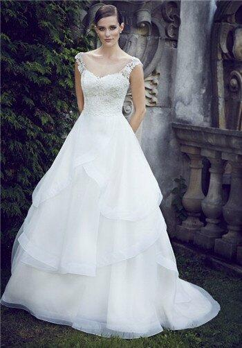 Paloma Blanca 4566 Wedding Dress photo