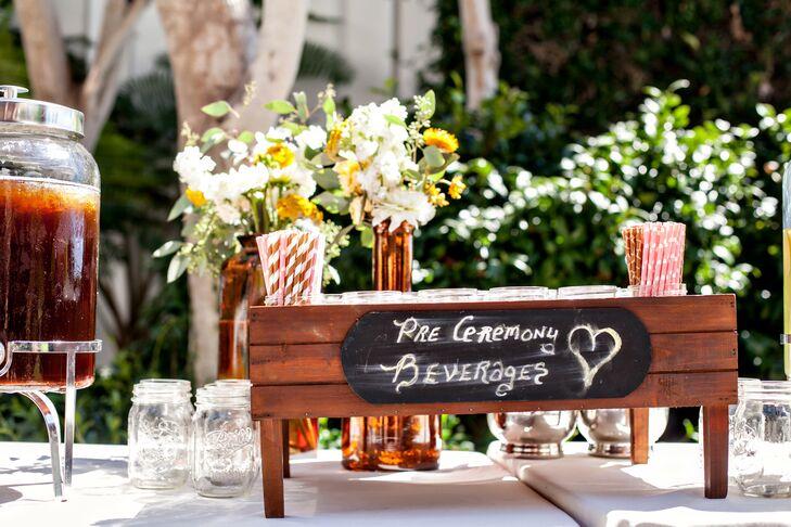 Pre-Ceremony Cocktails