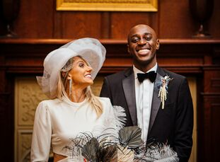 To celebrate their union, Angela and Awenate planned a wedding complete with a meaningful religious ceremony, epic fashion (including an over-the-top