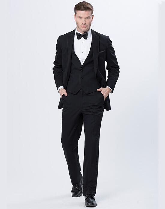 Allure Men  Allure Men Black Onyx Tux Wedding Tuxedos + Suit photo