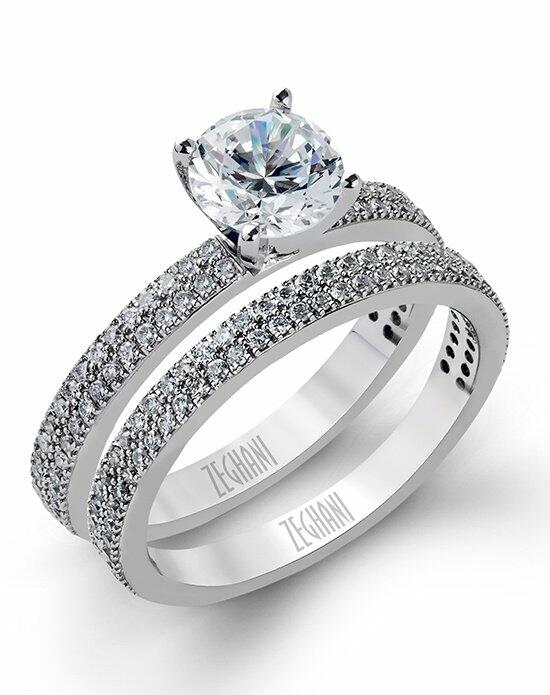 Zeghani ZR263 Engagement Ring photo