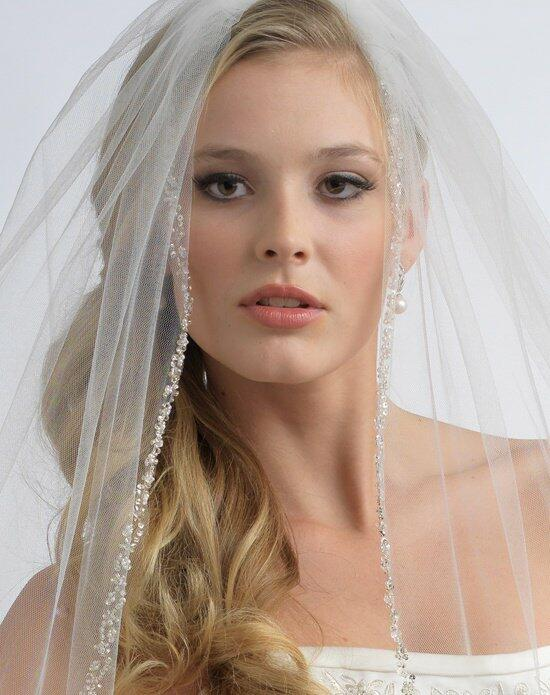 USABride 1 layer Julia Pearl & Crystal Veil VB-5006 Wedding Veils photo