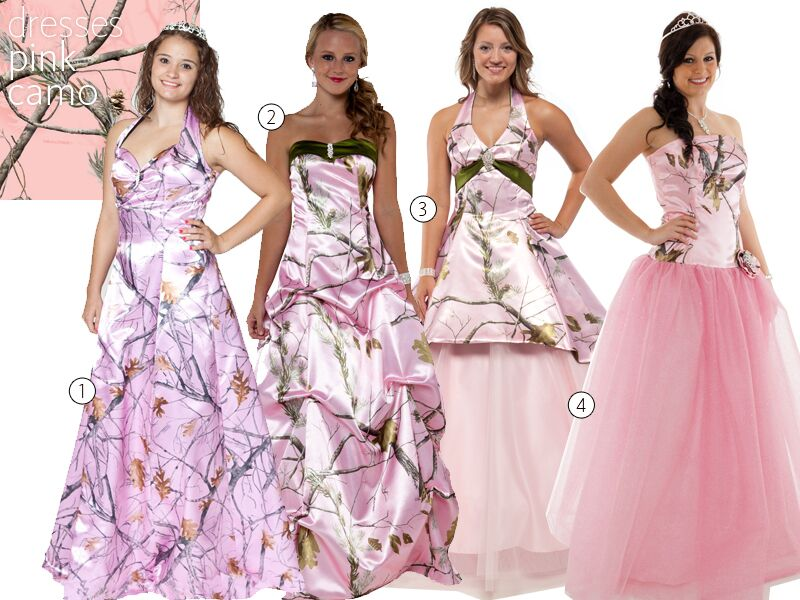 Camo Wedding Dresses Wedding Dresses With Camouflage Accents