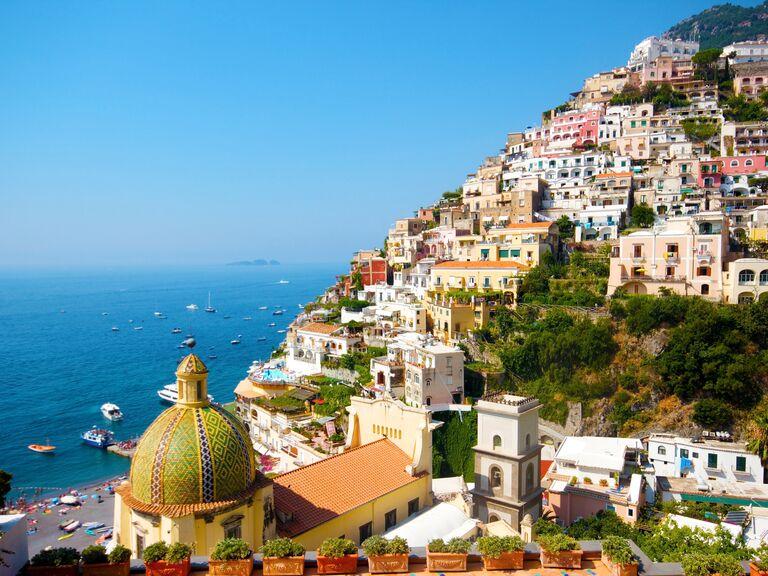 Europe wedding destination: Amalfi Coast, Italy