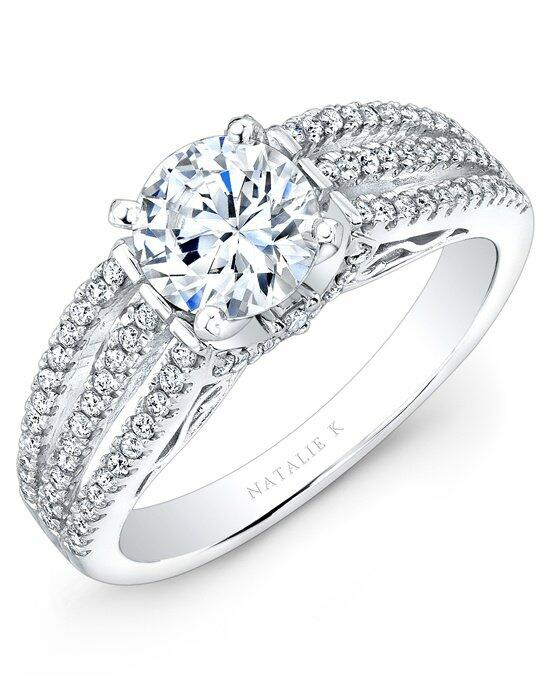 Natalie K L'Amour Collection - NK25833WE-W Engagement Ring photo