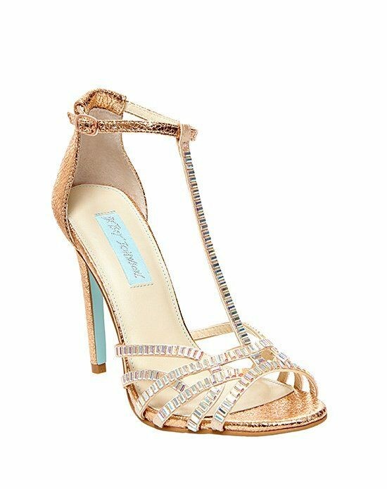 rose gold wedding shoes blue by betsey johnson sb ruby gold wedding shoes 7127