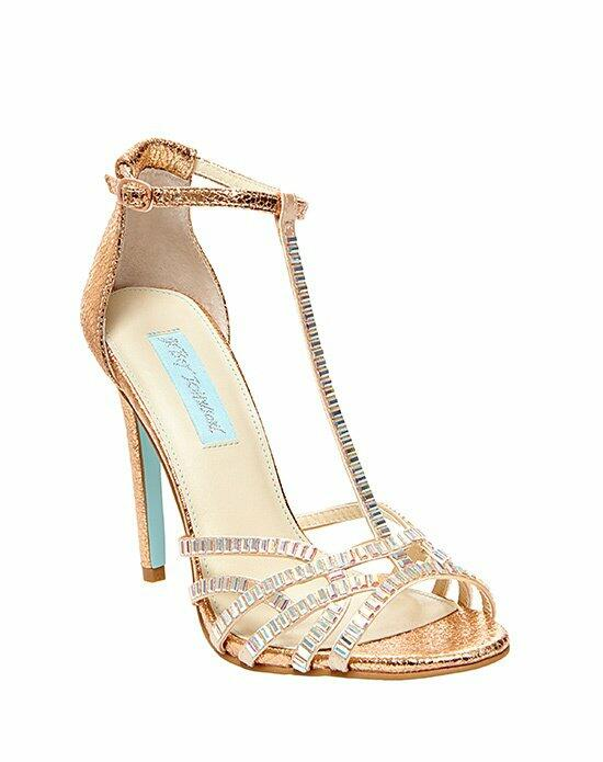 Blue by Betsey Johnson SB-RUBY - ROSE GOLD Wedding Shoes photo