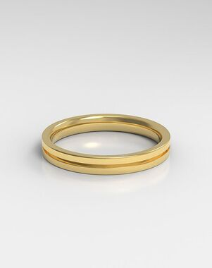 HOLDEN The Line Platinum, Rose Gold, White Gold Wedding Ring
