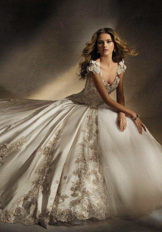 Amalia carrara by eve of milady 305 wedding dress the knot for Wedding dresses the knot
