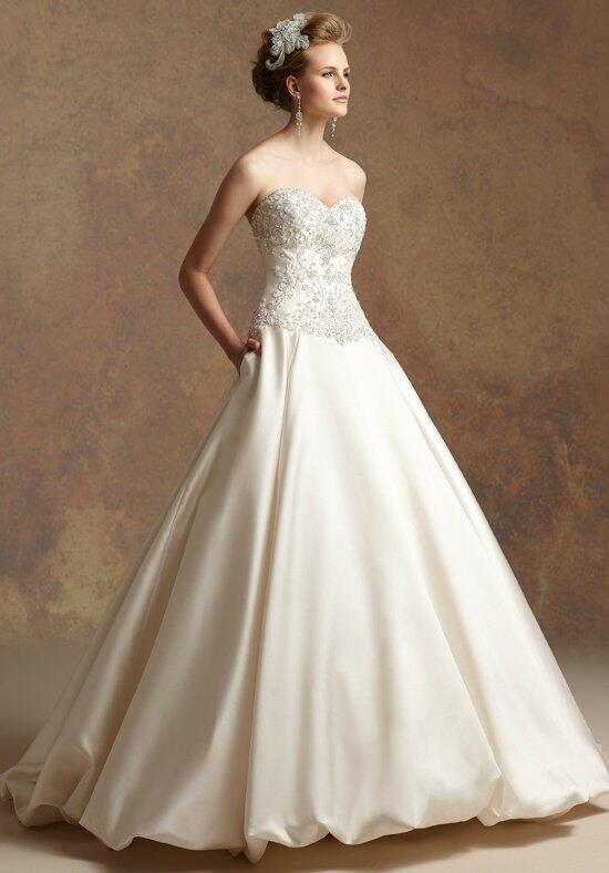 Jasmine couture t152005 wedding dress the knot for How do you preserve a wedding dress