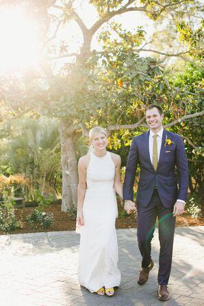 Modern, Vibrant Backyard Wedding